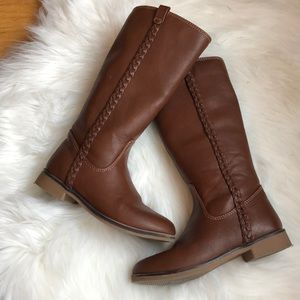 Girls riding style boots